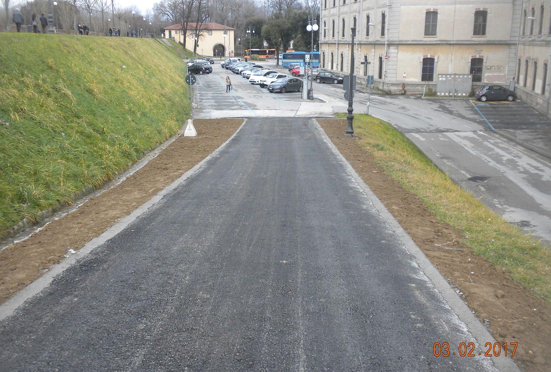 Riqualificazione della passeggiata delle mura urbane di Lucca